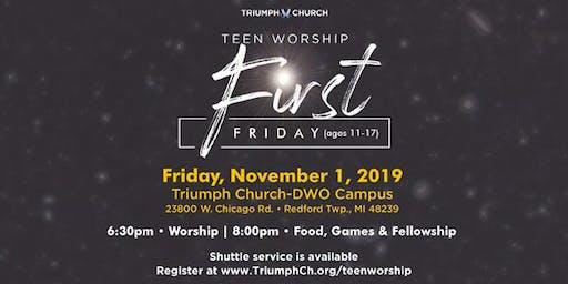 Triumph's 1st Friday Teen Worship