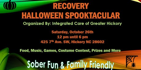 2019 ICGH RECOVERY HALLOWEEN SPOOKTACULAR tickets