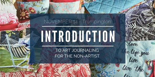 Art Journaling for the Non-Artist   (Cambridge) - use AUTUMN50 for 50% off