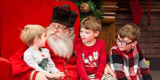 Brunch with Santa at Walker's Exchange