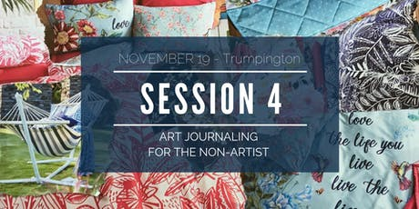 Go Deeper with Art Journaling - Workshop 4 of 5 tickets
