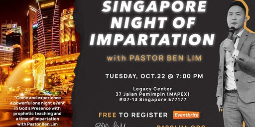 Singapore Night of Impartation