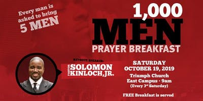 Triumph's ManChurch: Monthly Men's Breakfast & Fellowship