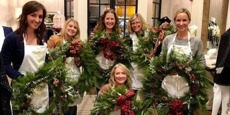 Create your Chalet Chic Wreath at Tipsy Toboggan with Alice's Table tickets