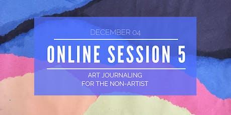 Explore Art Journaling - Online Workshop 5 of 5 biglietti