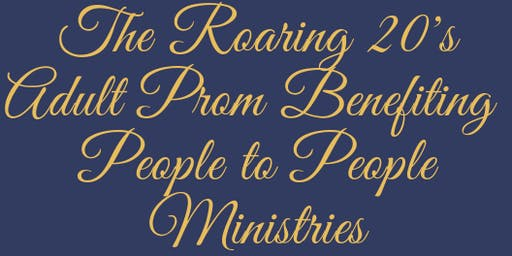 JWSC Presents Roaring 20's Adult Prom Benefiting People to People