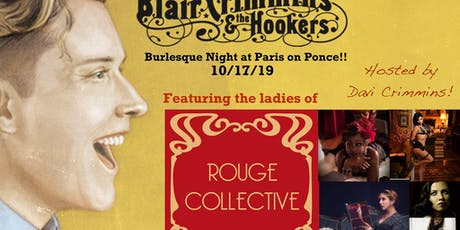 Burlesque Night with Blair Crimmins and The Hookers! tickets