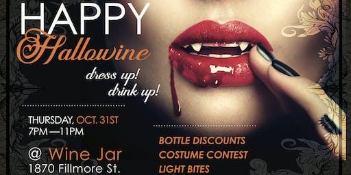 Halloween (Hallowine) at Wine Jar