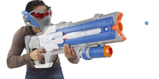 Nerf Gun & Pizza Party!
