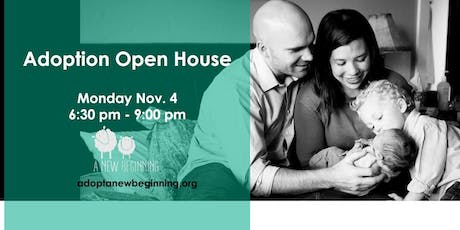 Adoption Open House tickets