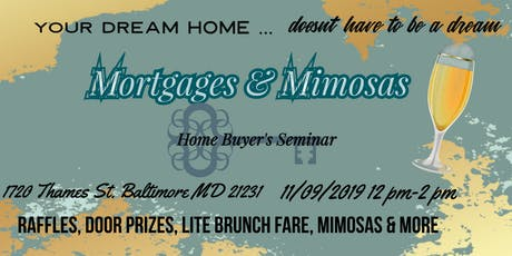 Mortgages and Mimosas tickets