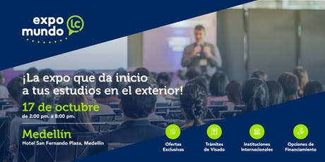 Estudia en el exterior  EXPO MUNDO LC entradas