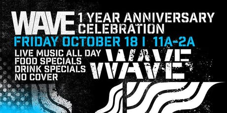 Wave 1 Year Anniversary Party tickets