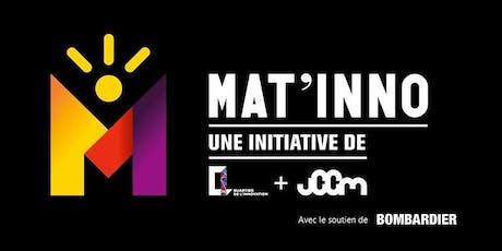 Mat'inno : Nouveaux types de transports innovants et accès à l'alimentation billets