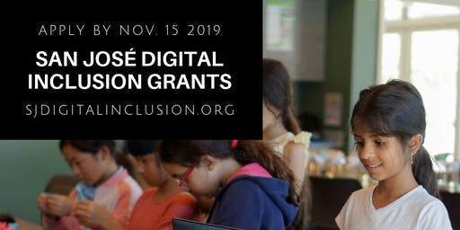 San José Digital Inclusion Grant Workshop #2