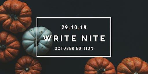 Write Nite: October Edition