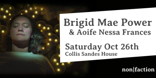 Brigid Mae Power and Aoife Nessa Frances