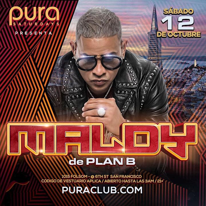 PURA Presents MALDY of PLAN B image