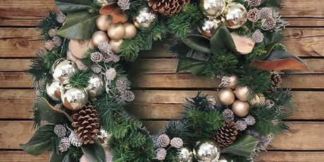 Holiday Silk Wreath Workshops with Shelley Burton & Ria Ultsch tickets