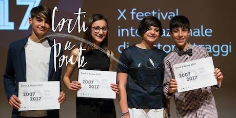Corti a Ponte 2020 (11-13 anni): Mattinata di cinema ed intercultura, Ponte San Nicolò biglietti