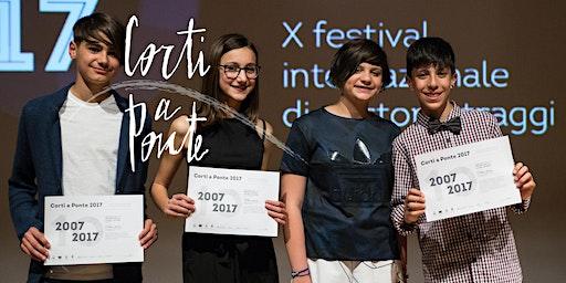 Corti a Ponte 2020 (11-13 anni): Mattinata di cinema ed intercultura, Ponte San Nicolò