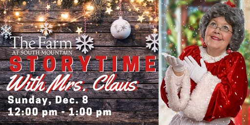 Storytime with Mrs Claus!