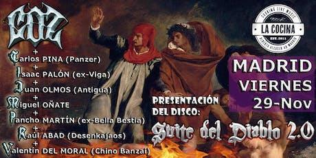 """COZ """"SUITE del DIABLO 2.0"""" en Madrid entradas"""
