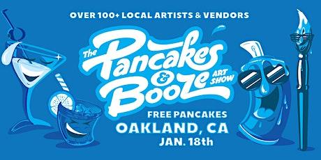 The Oakland Pancakes & Booze Art Show tickets