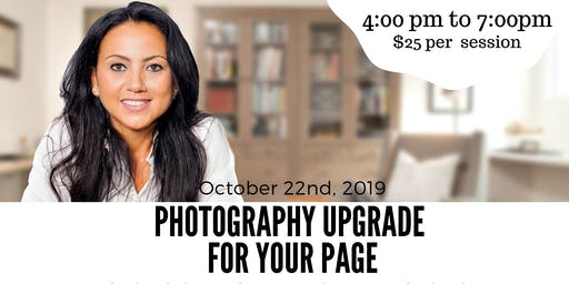 Photography UPgrade for your page