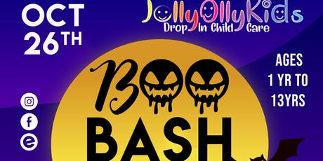 "Jolly Olly Kids presents ""Boo Bash"" tickets"