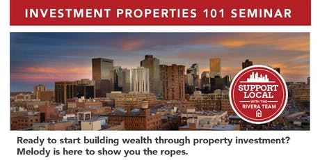 Investment Properties- 101 tickets