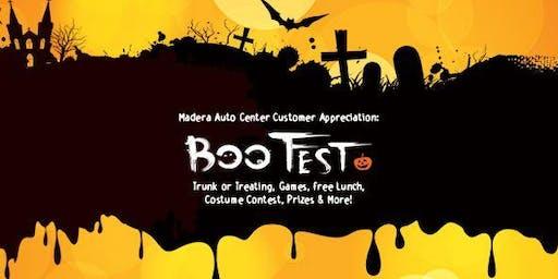 Customer Appreciation Event: BOO FEST