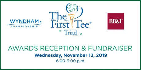 The First Tee of the Triad Awards Reception & Fundraiser tickets