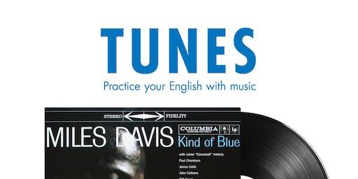 Tunes: Taller  de conversación en inglés sobre mús