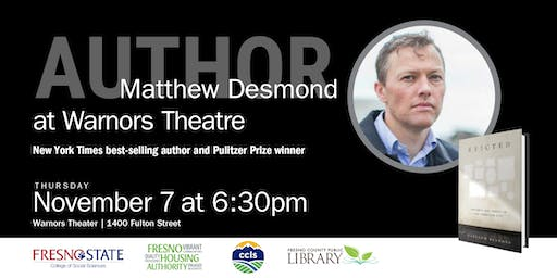 Poverty and Profit in the American City with author Matthew Desmond
