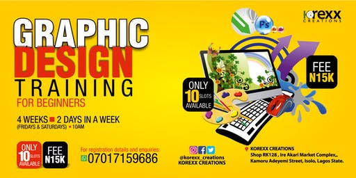 GRAPHIC DESIGN TRAINING FOR BEGINNERS