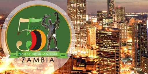 Zambia @ 55 Years Independence Black Tie Event – Sat, Oct 19th