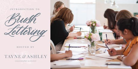 Intro to Calligraphy: Brush Lettering tickets