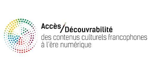 Découvrabilité x Culture x Francophonie internationale **Pitch+Réseautage**