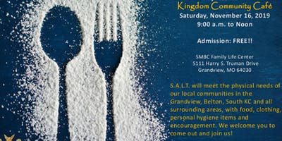 S.A.L.T. Ministry:  Kingdom Community Cafe Event