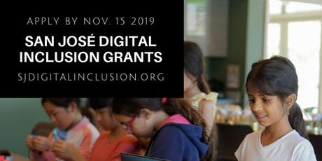 San José Digital Inclusion Grant Workshop #3 tickets