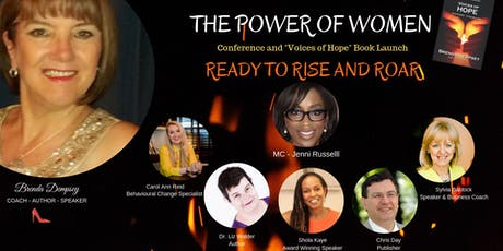 Voices of Hope Book Launch - The Power of Women: Ready to Rise & Roar tickets