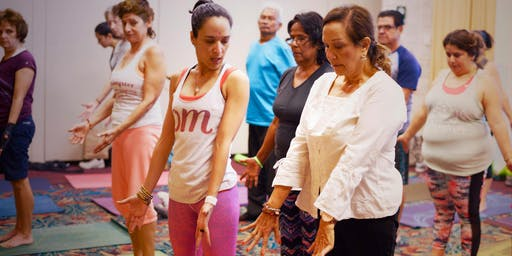 Sound Bath Music Meditation & Gentle Yoga for Seniors & Plus 40 Years Old!