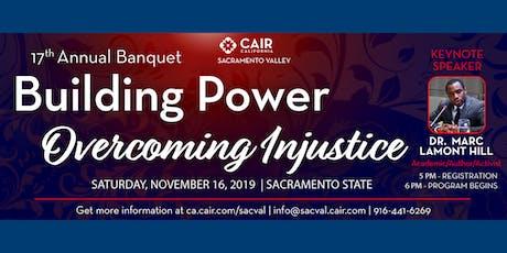CAIR Sacramento Valley 17th Annual Banquet tickets