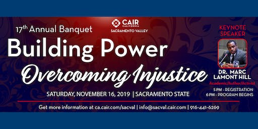 CAIR Sacramento Valley 17th Annual Banquet