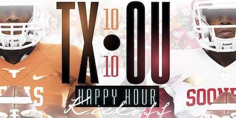 Happy Hour at The Park - TX/OU Happy Hour + Giants vs Patriots @ {Union Park - Addison} tickets