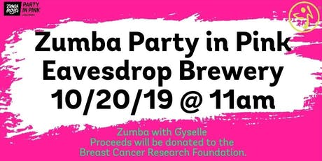 Zumba in Pink at Eavesdrop Brewery tickets