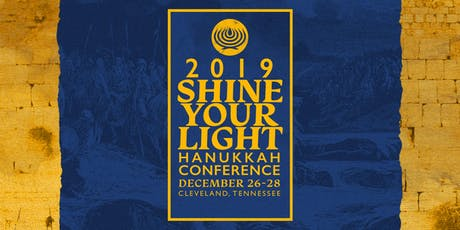 """""""Shine Your Light"""" Hanukkah Conference 2019 tickets"""