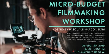 Intro to Micro-Budget Filmmaking Workshop tickets