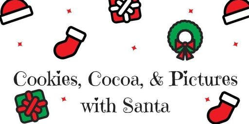 Cookies, Cocoa & Pictures with Santa